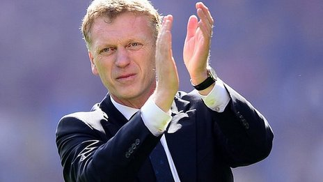 New Manchester United boss David Moyes