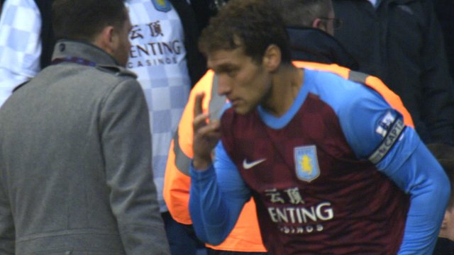 Aston Villa's Stiliyan Petrov