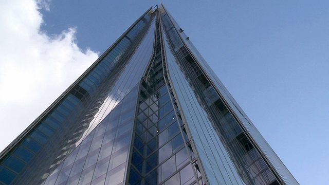 London's Shard building