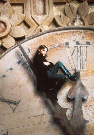 Jonathan Rhys Meyers as Steerpike in the BBC TV adaptation of Gormenghast