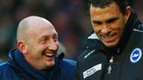 Ian Holloway and Gus Poyet