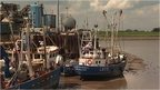 Fishing boats at King&#039;s Lynn