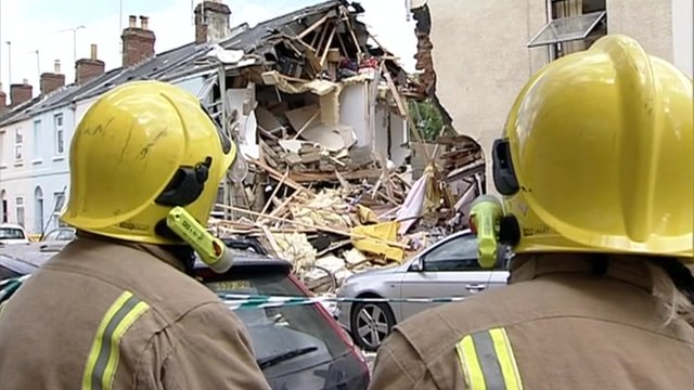 Rosehill Street gas explosion in Cheltenham