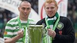 Scott Brown and Neil Lennon