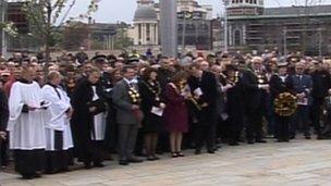 Bradford City brand minneshögtid