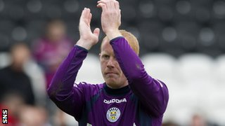St Mirren goalkeeper Craig Samson is rumoured to be joining Motherwell in the summer