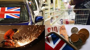 UK economy pictures