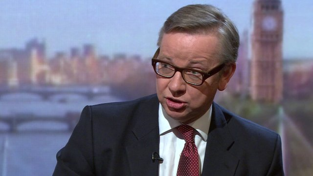 Education Secretary, Michael Gove