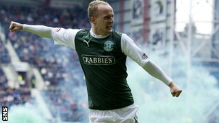 Leigh Griffiths scored his 100th career goal with an excellent free-kick
