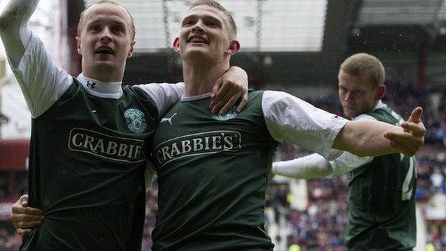 Highlights - Hearts 1-2 Hibernian