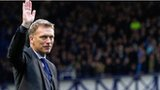 Outgoing Everton manager David Moyes
