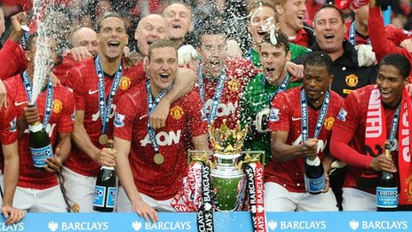Premier League Winners 2012-2013, Manchester United