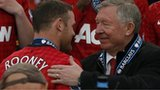 Wayne Rooney (left) and Sir Alex Ferguson