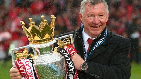 20th League Winner, Sir Alex Ferguson