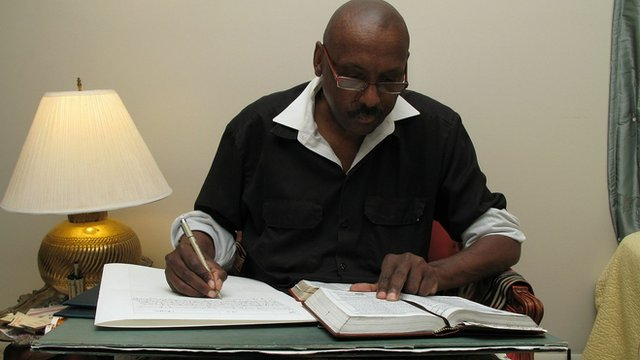 Phillip Patterson transcribes the King James Bible