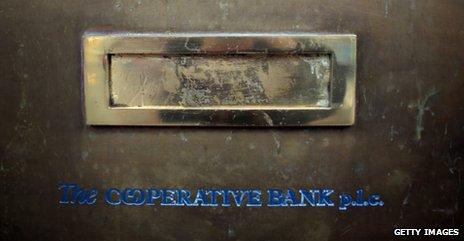 Mailslot at Co-op Bank