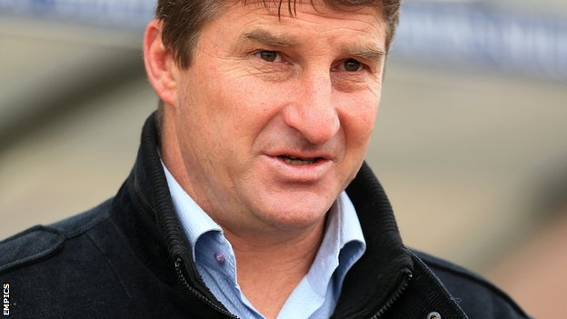 Warrington Wolves head coach Tony Smith