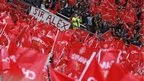 Flags at Old Trafford