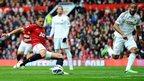 Manchester United striker Javier Hernandez