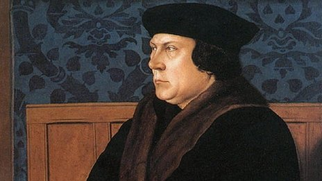 Painting of Thomas Cromwell by Hans Holbein the Younger