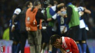 Porto celebrate late goal