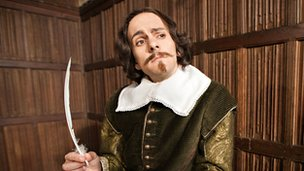Mat Baynton as William Shakespeare