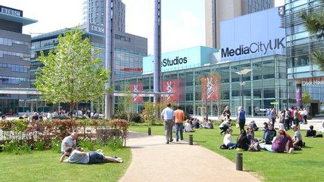 BBC North at MediaCityUK