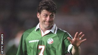 Ireland captain Andy Townsend