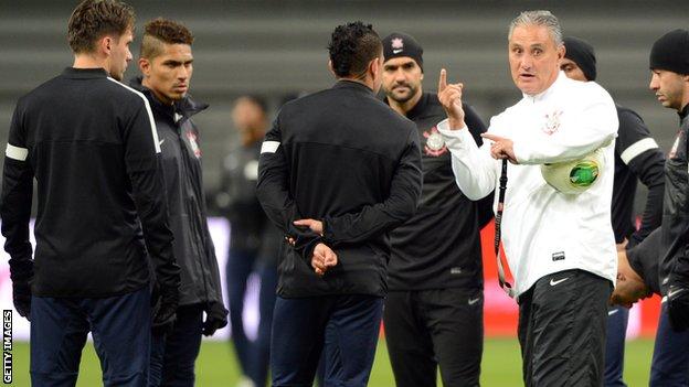Corinthians head coach Tite