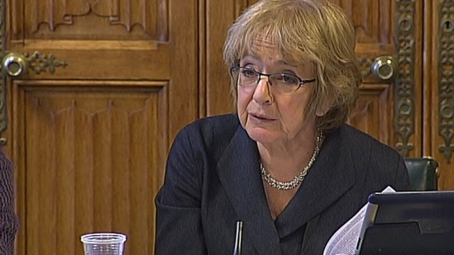Committee chair and Labour MP Margaret Hodge