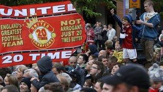 Man Utd victory parade