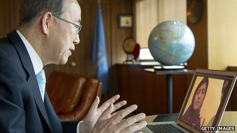 United Nations Secretary-General Ban Ki-moon