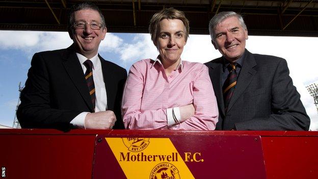 Graham Barnstaple, Leeann Dempster and Brian McCafferty