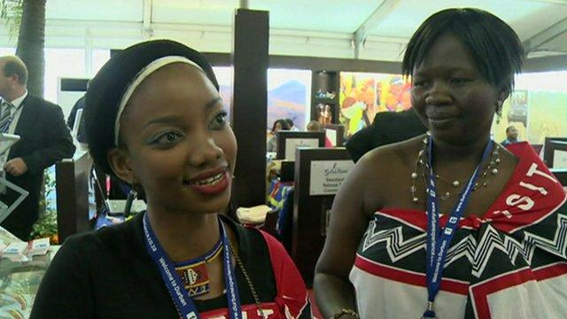 Swaziland delegates