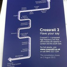 Crossrail consultation poster