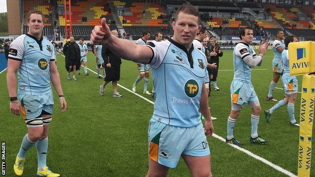 Dylan Hartley and Northampton