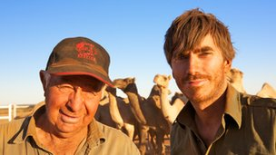 Simon Reeve and Ian Conway