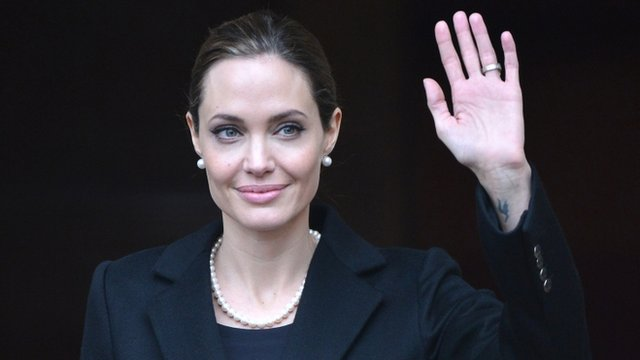 Angelina Jolie, in April 2013