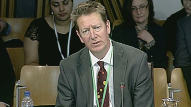 Pete Searle from the DWP