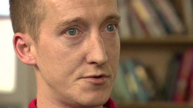 Former heroin addict David