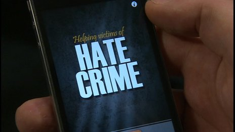 Hampshire Constabulary hate crime smartphone app