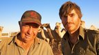 Simon Reeve with Ian Conway