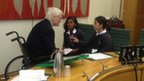 Graham Stuart MP with Aswini and Jasmina