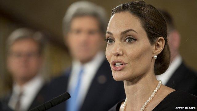 Angelina Jolie (file pic)