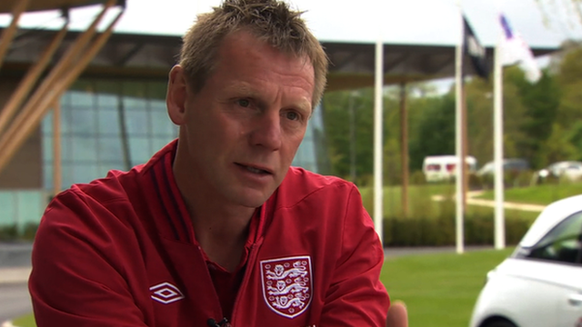 Former Manchester City manager Stuart Pearce