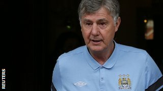 Manchester City's caretaker manager Brian Kidd