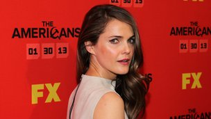 Keri Russell goes into a gala event for The Americans
