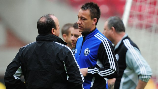 Terry limps through Amsterdam