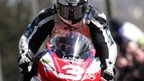 Michael Dunlop in action at the Cookstown 100