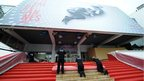  The Red Carpet is laid on the Opening Day of the 66th Annual Cannes Film Festival on May 15, 2013 in Cannes, 